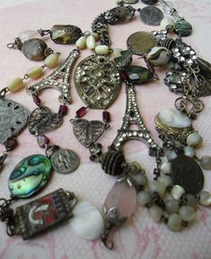 "this blog is fantastic - she makes jewelry from all things ""found"""