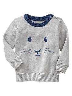Intarsia peter rabbit sweater | Gap