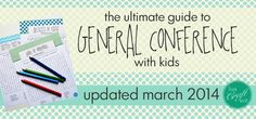 List of resources for General Conference