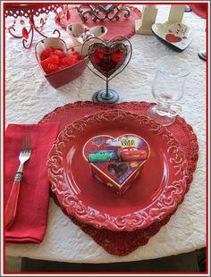 Purple Chocolat Home: Grandkid's Valentine's Day Party