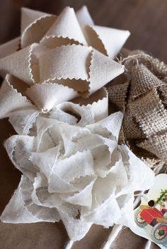 Fabric Ribbon DIY