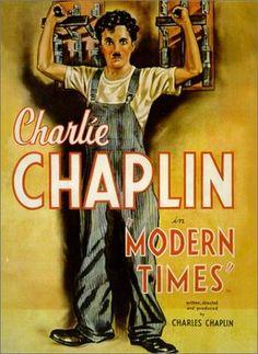 Modern Times silent film, movi poster, charli chaplin, charliechaplin, modern time, time 1936, films, charlie chaplin, posters