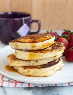 #Recipe: Fluffy Ricotta Pancakes