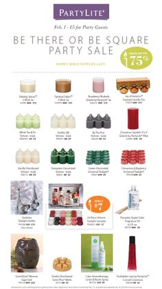 """PartyLite® CANDLES SUPER SALE! Up to 75% off! Just use """"NIKKI HENDRIX"""" as your host to gain access to these incredible deals!  SHOP: www.PartyLite.biz/NikkiHendrix"""