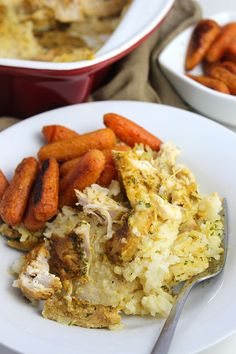 Chicken + Rice Casse