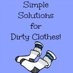 Simple Solutions for Dirty Clothes dirti cloth, room organ, hate clean, laundri room, simpl solut