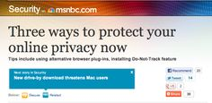 Need to go incognito when you search online? Tips on how to do it from MSNBC: http://tinyurl.com/84n3unf