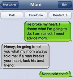 Gotta love Grandma!