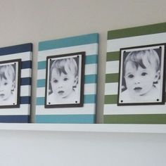 navy turquoise green nursery - Google Search