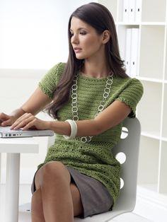 Crochet Cap Sleeve Top | Yarn | Free Crochet Patterns | Yarnspirations