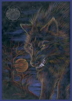 Blood Moon by ssantara on deviantART