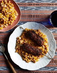 Jessica Koslow's Recipe for Rosemary Lamb Kofte With Creamed Corn