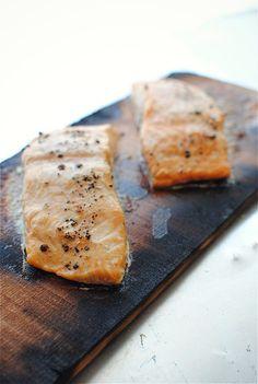 Cedar Plank Salmon!