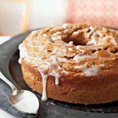 Pumpkin Pound Cake with Buttermilk Glaze | CookingLight.com
