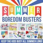 Summer Boredom Buster Printable Pack