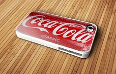 Coca Cola Drink Classic - iPhone 4 / iPhone 4S / iPhone 5 / Samsung S2 / Samsung S3 / Samsung S4 Case Cover on Etsy, $15.55