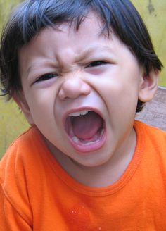 Yelling - Photos to Elicit Use Action Verbs- Pinned by @PediaStaff – Please Visit ht.ly/63sNt for all our pediatric therapy pins