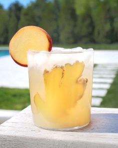 Ginger Peach Spritz
