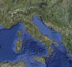 Italy and part of the Med