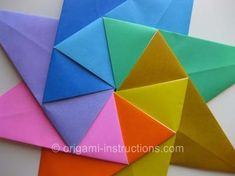 origami-modular-8-pointed-star PART TWO