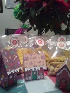 Envolturas para regalos de Navidad... :)
