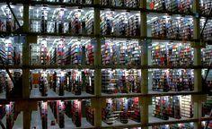 ohio state univ thompson library, lewis lighting design