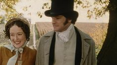 I love these two as Lizzie and Mr. Darcy.