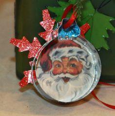 Cookie Cutter Ornament.  Cute!