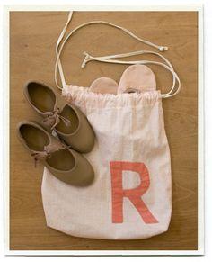 Pretty little ballet bag
