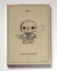 Morbidly adorable! And there's tons of different cartoon character skeletons in the store, too!