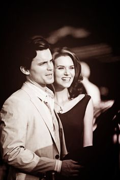 Matt Bomer & Hilarie Burton -- they're just so cute together!
