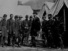 Visiting the troops ~1862