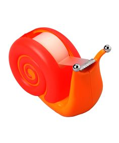 Snail Sticky Tape Dispenser // He's sticky, not slimy... Can I please have him for Christmas?!
