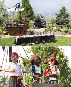 Pirates of the Caribbean Inspired Birthday Party