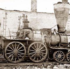 civil war pictures | Civil War Locomotive