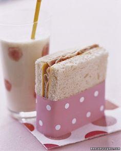 cute party sandwich wrap