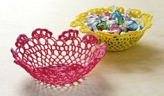 2014 How to make Stiffy bowls from $1 doilies