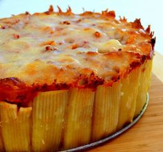 pasta pie.... sounds good