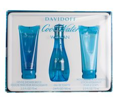 COOL WATER FOR WOMEN BY DAVIDOFF GIFT SET
