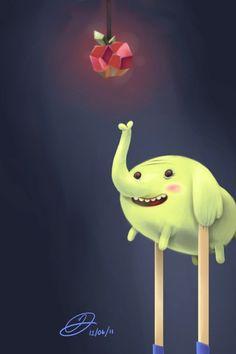 Adventure Time - Tree Trunks
