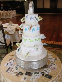 #joker #batman #villain wedding cake c: