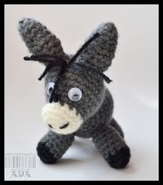 Donkey Amigurumi - FREE Crochet Pattern / Tutorial