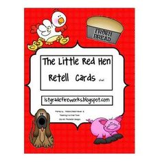 Retell cards to go with your book, chart, etc. Students can sequence the story..no pictures. Use these cards to match the story pictures.