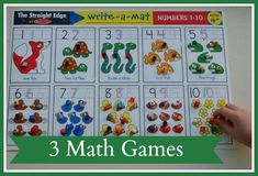 3  Math Games for kids