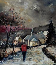 Cornimont 67, painting by artist ledent pol
