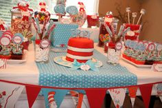Great Dr. Seuss themed party