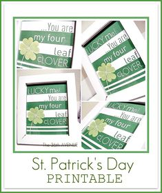 St Patrick's Day Free Printable!