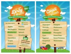 The Dirty Dozen and the Clean Fifteen   Pesticides and Produce