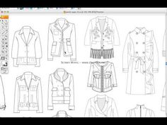Fashion Templates Jacket