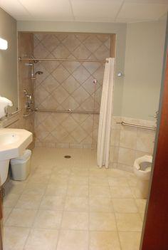 ideas for doreen on pinterest   handicap bathroom, small